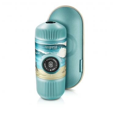 آلة صنع القهوة Journey Nanopresso Portable Espresso Maker WACACO – ألوان الصيف