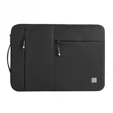 """حقيبة اللابتوب العملية WIWU ALPHA SLIM SLEEVE BAG FOR 15.6"""" LAPTOP - BLACK"""