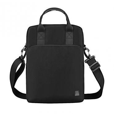 """الحقيبة المحمولة WIWU ALPHA VERTICAL DOUBLE LAYER BAG FOR 13.3"""" LAPTOP/ULTRABOOK - BLACK"""