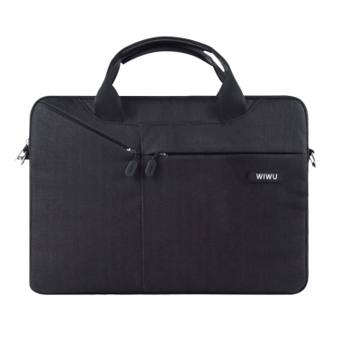"""حقيبة السفر المحمولة WIWU CITY COMMUTER BAG FOR 14""""/15.4"""" LAPTOP/ULTRABOOK - BLACK"""