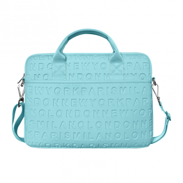 """حقيبة اللابتوب المحمولة WIWU COSMO SLIM CASE FOR 13.3"""" LAPTOP/ULTRABOOK - BLUE"""