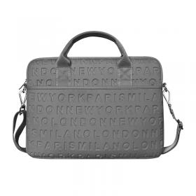 """حقيبة اللابتوب المحمولة  WIWU COSMO SLIM CASE FOR 13.3"""" LAPTOP/ULTRABOOK - GREY"""