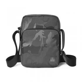 حقيبة الكتف المحمولة WIWU CROSSBODY BAG CAMOUFLAGE PATTERN (240*180*60MM) - BLACK