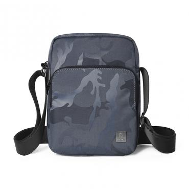 حقيبة الكتف المحمولة WIWU CROSSBODY BAG CAMOUFLAGE PATTERN (280*200*60MM) - GRAY