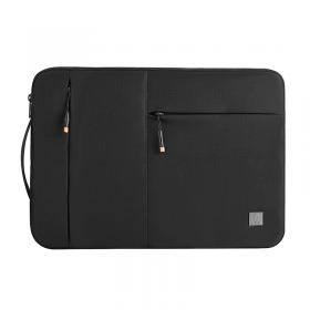 """حقيبة اللابتوب العملية WIWU LAPTOP BAG 15.4"""" ALPHA SLIM SLEEVE BAG (FIT 16"""" MACBOOK) - BLACK"""