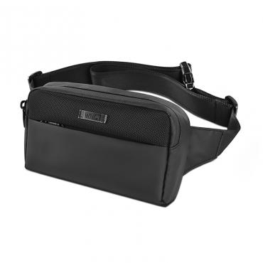 الحقيبة الصغيرة WIWU METRO MATE MULTIFUNCTION TRAVEL WAIST BAG (21*12.5*5CM) - BLACK