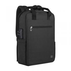 حقيبة الظهر الآمنة WIWU PASSWORD LOCK BACKPACK - BLACK