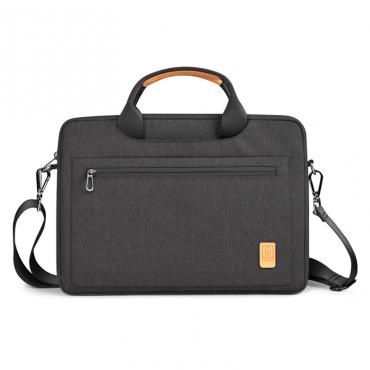 """حقيبة الكتف الرائدة WIWU 13.3""""/14"""" LAPTOP/ULTRABOOK - BLACK"""