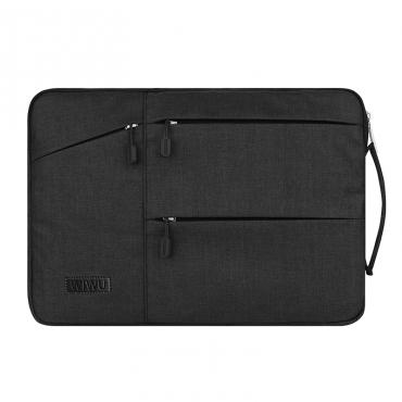 """حقيبة لابتوب WIWU POCKET SLEEVE FOR 15.4"""" LAPTOP/ULTRABOOK- BLACK"""