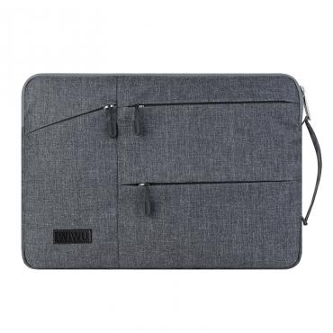 """حقيبة لابتوب WIWU POCKET SLEEVE FOR 15.4"""" LAPTOP/ULTRABOOK- GRAY"""
