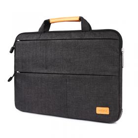 """حقيبة اللابتوب مع ستاند WIWU SMART STAND LAPTOP SLEEVE CASE BAG FOR MACBOOK PRO/LAPTOP 15.4"""" - BLACK"""