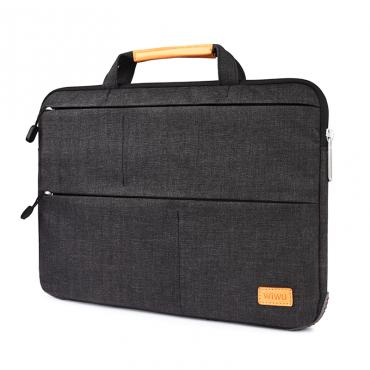 "حقيبة اللابتوب WIWU SMART STAND SLEEVE FOR 13.3"" AIR MACBOOKS/LAPTOP BAG - BLACK"