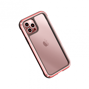 كفر أيفون WIWU DEFENSE ARMOR PHONE CASE MILITARY LEVEL SHOCKPROOF FOR IPHONE 11 PRO MAX - RED