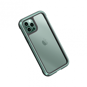"كفر أيفون WIWU DEFENSE ARMOR PHONE CASE MILITARY LEVEL SHOCKPROOF FOR IPHONE 12 (5.4"") - GREEN"