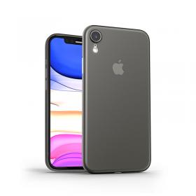 كفر أيفون إكس أر WIWU SKIN NANO MOBILE CASE FOR IPHONE XR - BLACK THROUGH