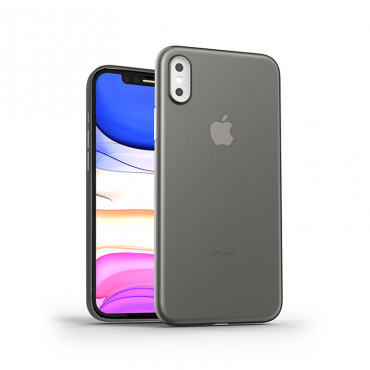 كفر أيفون إكس إس ماكس WIWU SKIN NANO MOBILE CASE FOR IPHONE XS MAX - BLACK THROUGH