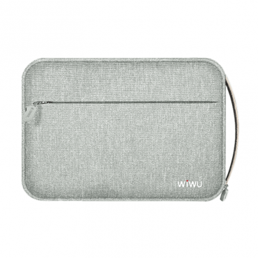 """حقيبة اليد الخفيفة  WIWU COZY STORAGE BAG 8.2"""" - GREY"""