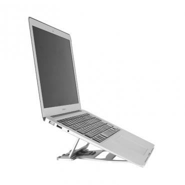"""ستاند لابتوب WIWU LOHAS S100 LAPTOP STAND FOR 11.6"""" TO 15.4"""" MACBOOKS/LAPTOPS - SILVER"""