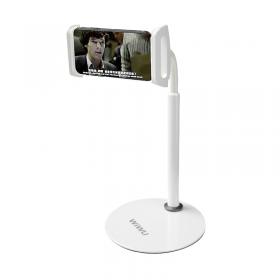 حامل موبايل مع ستاند WIWU ZM300 FOR PHONE & TABLET - WHITE