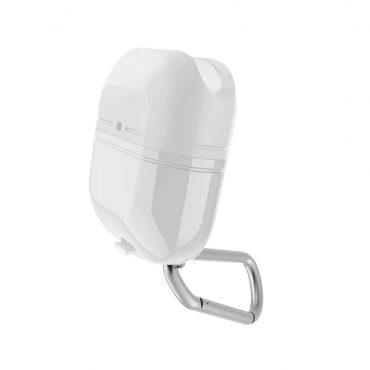 علبة حماية لسماعات AirPods ½ من X-Doria - أبيض