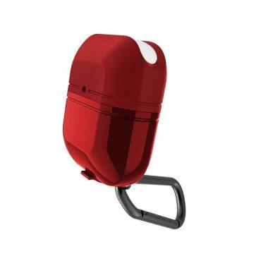 علبة حماية لسماعات AirPods ½ من X-Doria - أحمر