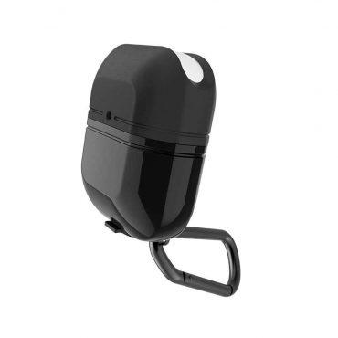 علبة حماية لسماعات AirPods ½ من X-Doria - أسود