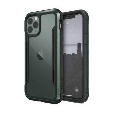 كفر X-Doria - Defense Shield Back Case for iPhone 11 Pro - أخضر