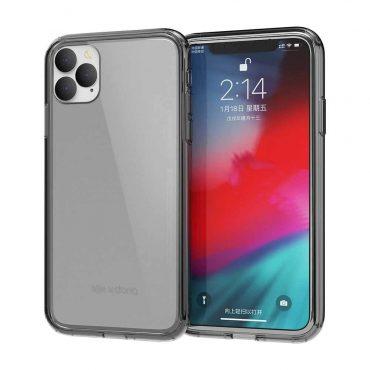 كفر X-Doria - Clearvue Back Case for iPhone 11 Pro Max - سموكي
