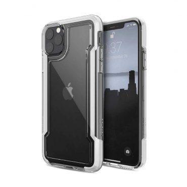 كفر X-Doria - Defense Clear Back Case for iPhone 11 Pro Max - أبيض