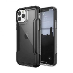 كفر X-Doria - Defense Clear iPhone 11 Pro - أسود