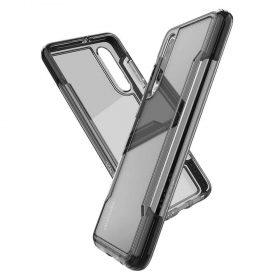 كفر X-Doria - Defense Clear Back Case for Huawei P30 - شفاف / أسود