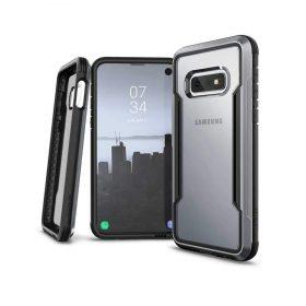 كفر X-Doria - Defense Shield Samsung Galaxy S10E - شفاف / أسود