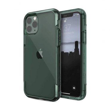 كفر iPhone 11 Pro Max X-Doria Defense Air Back Case - أخضر داكن