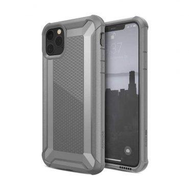 كفر iPhone 11 Pro Max X-Doria Defense Tactical Back Case - رمادي