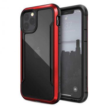 كفر iPhone 11 Pro X-Doria Defense Shield - أحمر