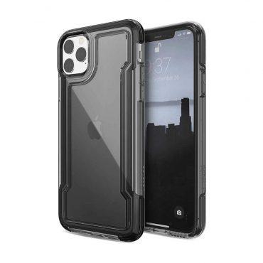 كفر iPhone 11 Pro Max X-Doria Defense Clear - أسود