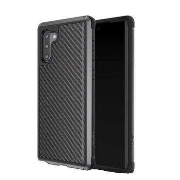 كفر Samsung Galaxy Note 10 X-Doria Defense Lux Back Case - أسود كربوني