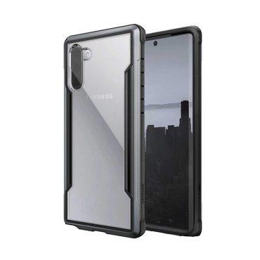 كفر Samsung Galaxy Note 10 X-Doria Defense Shield Back Case - أسود