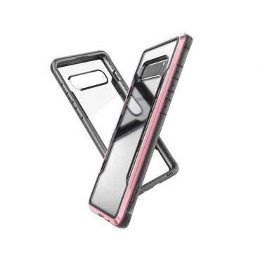 كفر Samsung Galaxy S10E X-Doria Defense Shield Back Case - ذهبي وردي