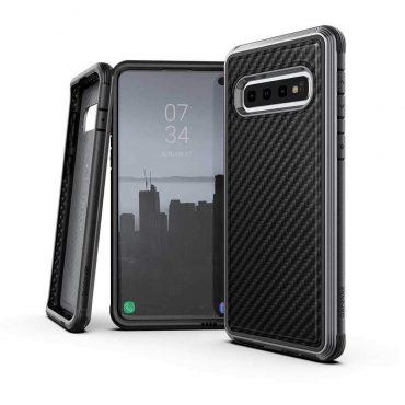 كفر Samsung Galaxy S10 Plus X-Doria Defense Lux Back Case - أسود