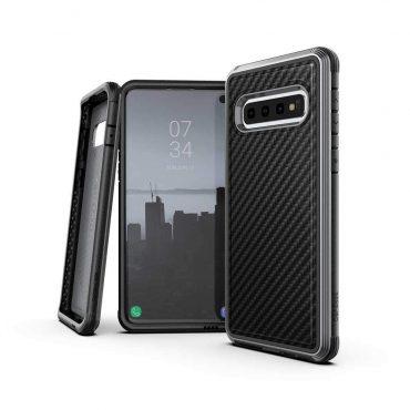كفر Samsung Galaxy S10 X-Doria Defense Lux Back Case - أسود