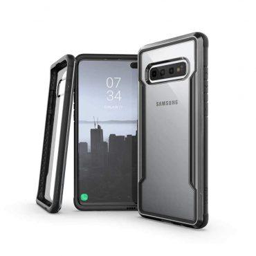 كفر Samsung Galaxy S10 X-Doria Defense Shield Back Case - أسود