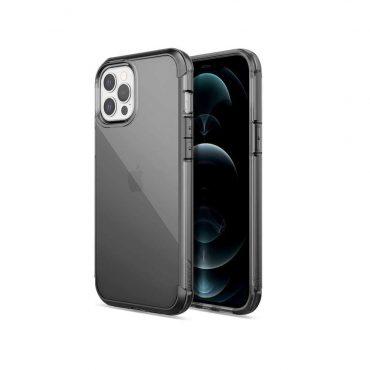 "كفر  X-Doria Raptic Air Case for iPhone 12 Pro Max (6.7"") - Smoke"