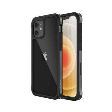 "كفر   X-Doria Raptic Edge Case for iPhone 12 Mini (5.4"") - Black"
