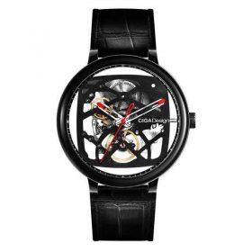 ساعةMI CIGA Designالميكانيكية الأوتماتيكية للرجال (سوداء) -شاومي