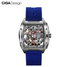 ساعة MI CIGA DESIGN  الميكانيكية للرجال *z series ( زرقاء) من شاومي