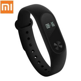ساعة لياقة بدنية Xiaomi Mi Fitness Band 2 with HR and Display - أسود