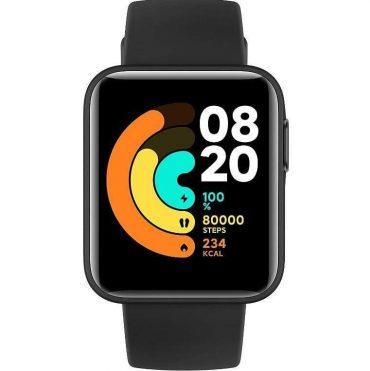 ساعة xiaomi mi watch lite الذكية سوداء