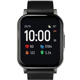 ساعة mi haylou smart watch ls02 الذكية سوداء
