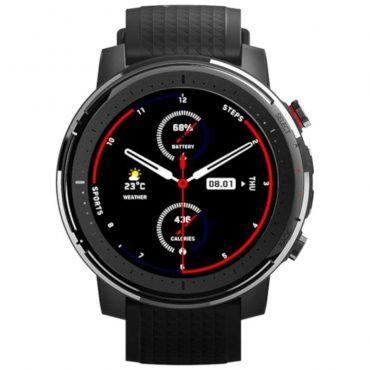 ساعة شاومي الرياضية الذكية Amazfit Stratos 3 – أسود